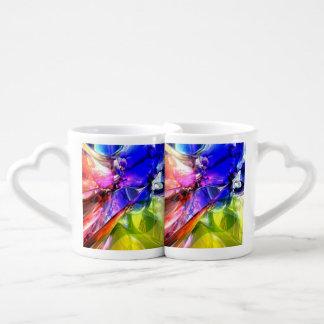 When Rainbows Collide Coffee Mug Set