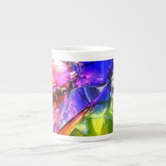 When Rainbows Collide Tea Cup