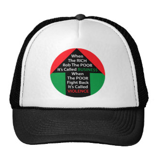 When RICH Rob POOR Called BUSINESS Poor Fight Back Trucker Hat