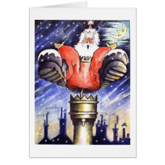 When Santa Got Stuck In The Chimney Card