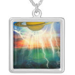 When Saturn Ruled The World Necklaces