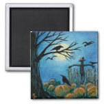 when scarecrows sleep 2 inch square magnet