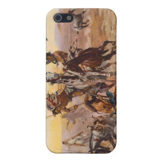 When Sioux and Blackfeet Met by Charles M. Russell Case For iPhone SE/5/5s