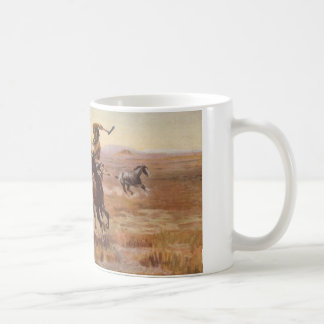 When Sioux and Blackfeet Met by Charles M. Russell Coffee Mugs