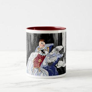 When stuck in life's rapids... Two-Tone coffee mug