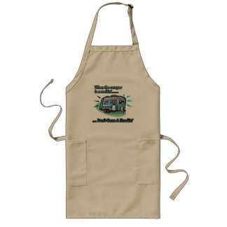 When the camper is a rockin' long apron