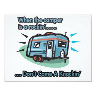 When the camper is a rockin' card