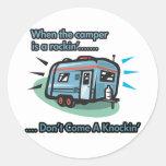 When the camper is a rockin' round sticker