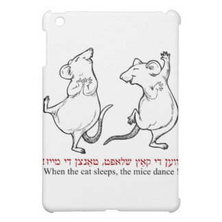 When the cat's asleep, the mice dance cover for the iPad mini