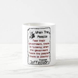 When The People Coffee Mug