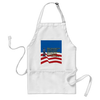 When the people fear their government, Thomas Jeff Adult Apron