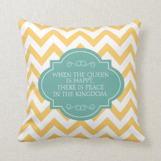 When The Queen Is Happy There Is Peace, Pillow