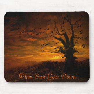When The Sun Goes Down.. Mousepads
