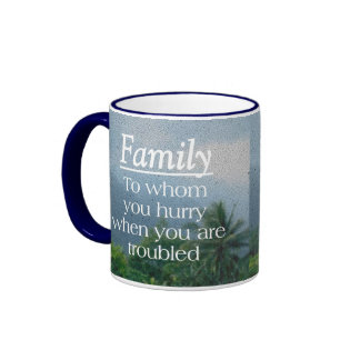 When Troubled Family Mugs