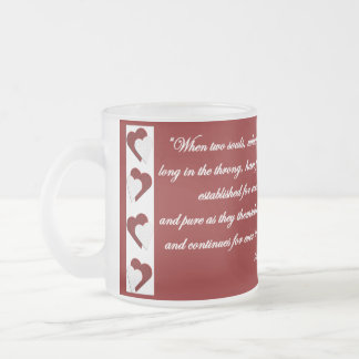 When Two Souls... Victor Hugo Quote Mug