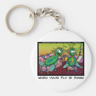 When Ur Fly Is down Funny Psychiatry Gifts & Tees Key Chains