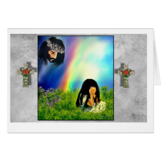 When we Cry Greeting Card