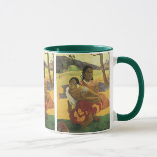 When Will You Marry? by Paul Gauguin, Vintage Art Mug