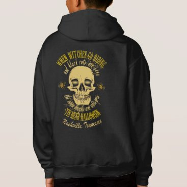 Halloween Themed When Witches Go Riding Halloween Kids' Hoodies