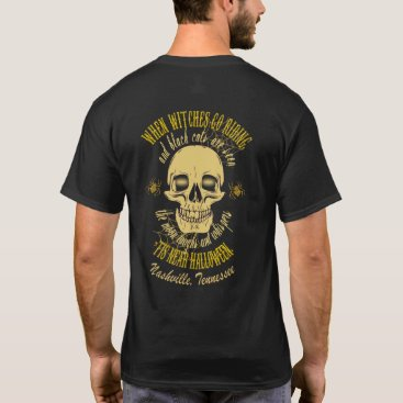 Halloween Themed When Witches Go Riding Halloween T-Shirt