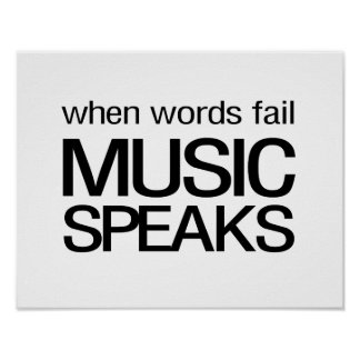 When Words Fail Music Speaks Poster