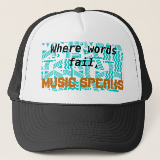 When words fail quote hat
