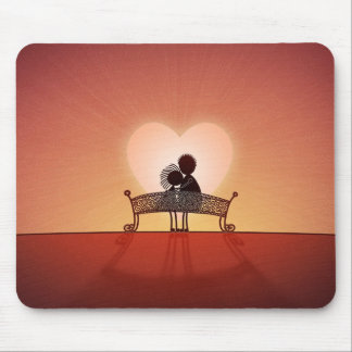 When You Are In Love Mousepads