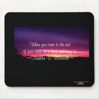 When You Come To The End - Mousepad