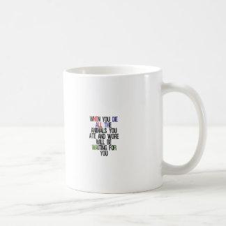 When You Die 1 Mug