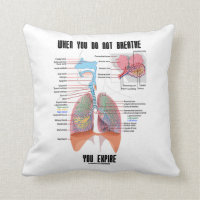 When You Do Not Breathe Expire Respiratory System Pillows