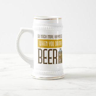 When you drink Beer Beer Stein