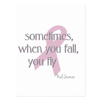 When You Fall You Fly Postcard