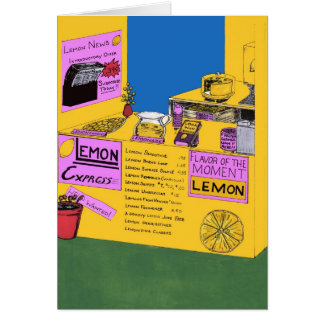 When You Have Lemons Make Lemonade Greeting Card