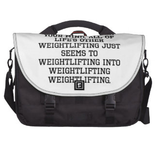 When You Have Wrestling On Your Mind Commuter Bag