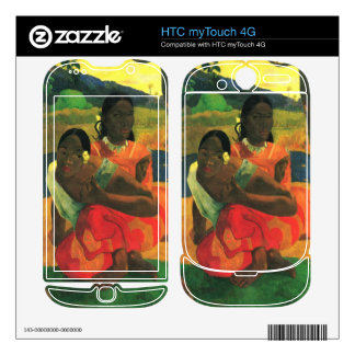 When You Hear by Eugène Henri Paul Gauguin Decals For HTC myTouch 4G