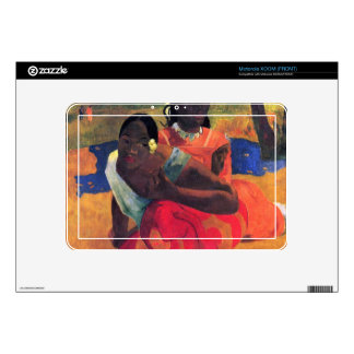 When You Hear by Eugène Henri Paul Gauguin Motorola XOOM Skin