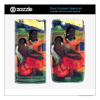 When You Hear by Eugène Henri Paul Gauguin Xperia Arc Skins