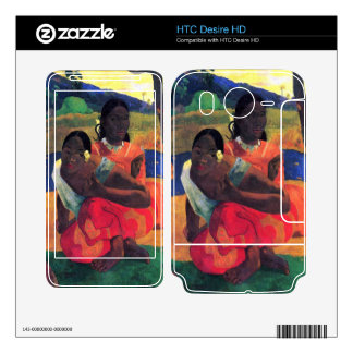 When You Hear by Eugène Henri Paul Gauguin Skins For HTC Desire HD