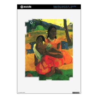 When You Hear by Eugène Henri Paul Gauguin iPad 3 Skin