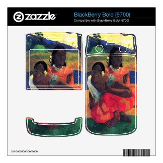 When You Hear by Eugène Henri Paul Gauguin BlackBerry Skin