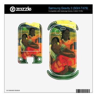 When You Hear by Eugène Henri Paul Gauguin Samsung Gravity 3 Decals