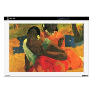 "When You Hear by Eugène Henri Paul Gauguin Decal For 17"" Laptop"