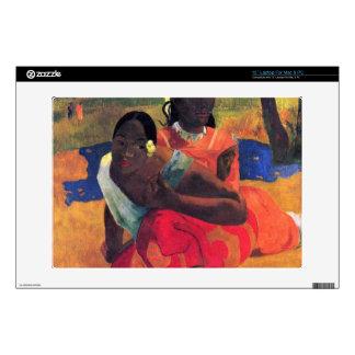 When You Hear by Eugène Henri Paul Gauguin Skins For Laptops