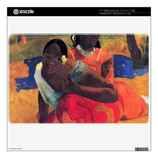 When You Hear by Eugène Henri Paul Gauguin Skins For The MacBook Air