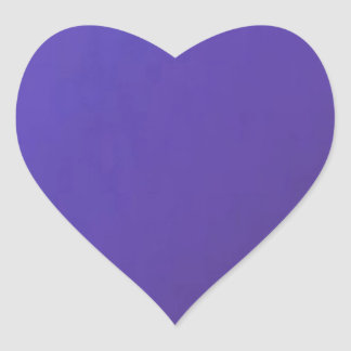 When you LOVE, you get HURT  Dark Blue Base Heart Sticker
