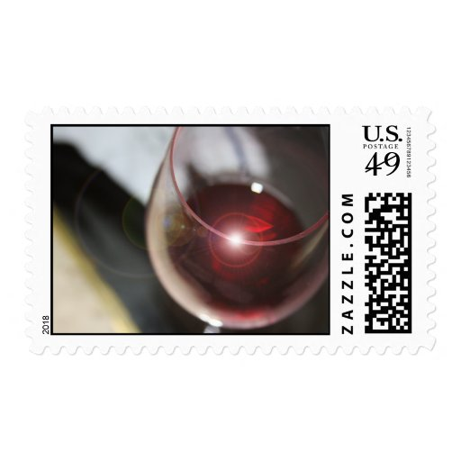 When You Need to Wine Down Stamp
