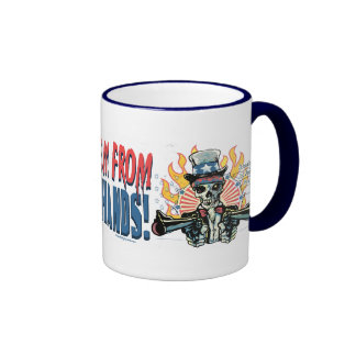 When You Pry Them From MY COLD DEAD Hands Ringer Coffee Mug