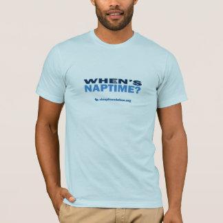 When's Naptime? (Men's) T-Shirt