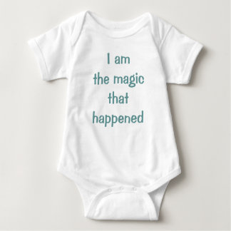 where all the magic happens baby bodysuit