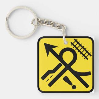 Where Am I Going?! Keychain